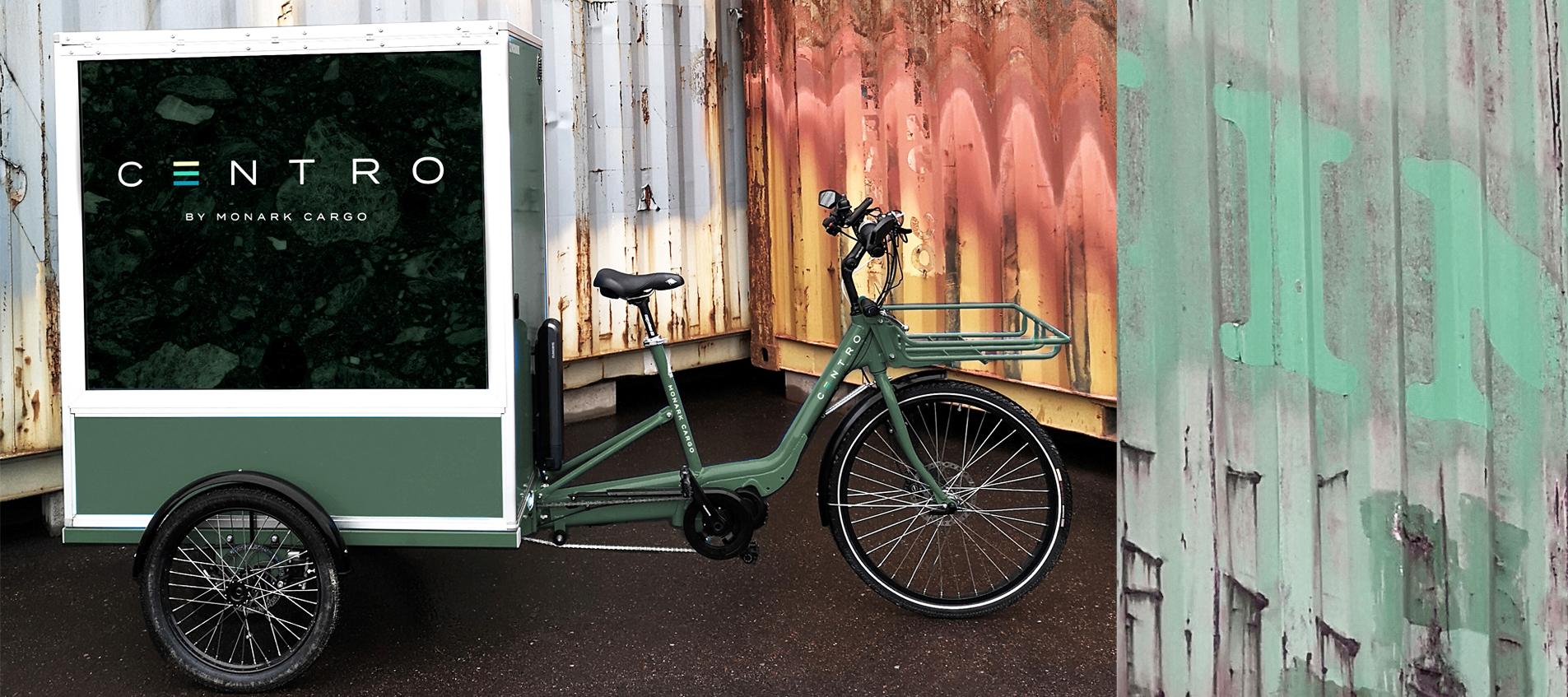 centro-3 e-cargobike for last mile delivery