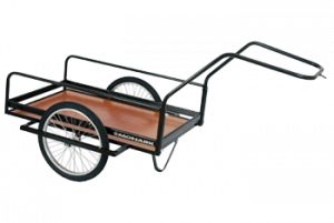 monark cykelkärra för montering på cykel eller att dra manuellt